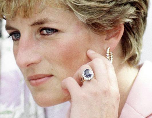 Princess Diana Sapphire Engagement Ring